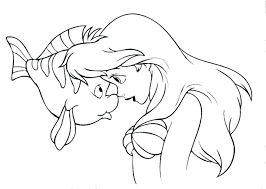 The Little Mermaid Ariel Coloring Coloring Pages Free Coloring Pages