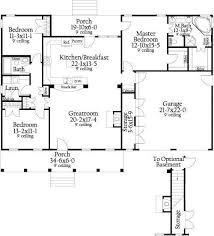 open concept chalet house plans