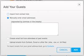 How to create and send email invitations for your event ...