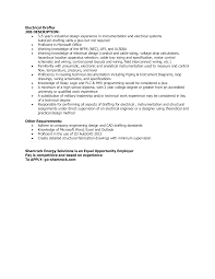 Electrical Cad Designer Jobs Electrical Drafter Job Description Templates At