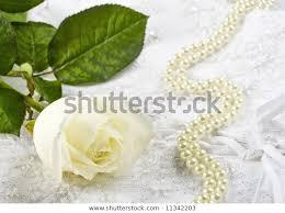 Nice Wedding Background Wedding Dress Fabric Stock Photo
