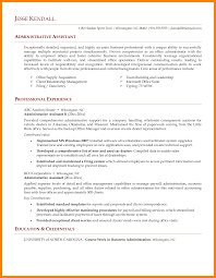 9 Administrative Assistant Resume Example Resign Latter