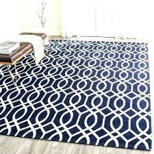 navy round jute rug handmade cedar brook ivory 5 x 8 free 5x8
