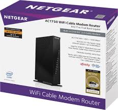 ac1750. netgear ac1750 dual-band router with docsis 3.0 cable modem multi c6300 - best buy ac1750