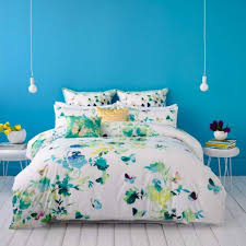 Lights For Girls Bedroom Blue Wall Color And Butterfly Printed Bedding Set For Inexpensive