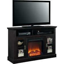 fire place tv stand large