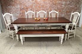 Butcher Block Farm Dining Table Farmhouse Tables