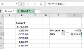 Cash Flow Calculation Excel Calculating Npv In Excel With Negative Cash Flows Excelchat