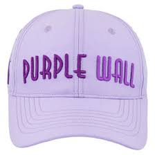 Meet Me at the Purple Wall Baseball Cap - Front ...