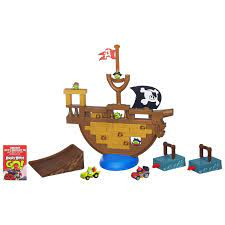 Đồ chơi xếp hình Angry Birds Go! Jenga Pirate Pig Attack Game