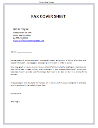 image professional fax cover sheet template download cover letter for faxes