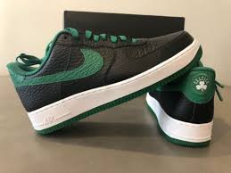 Nike id air force Mint Green High Top Nike Id Air Force Af1 Low Boston Celtics Mens 12 New Nib Blackgreen Complex Chocolate Nike Nike Id Air Force Af1 Low Boston Celtics Mens 12