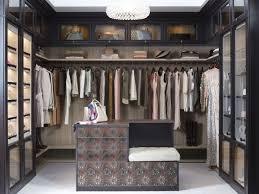 transitional closet by california closets