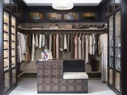 transitional closet by california closets