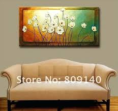 home office artwork. Paintings For Office Walls Flower Thick Oil Painting Canvas Simple Beautiful Artwork High Quality Hand Painted Home