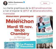 Charte France Insoumise La France Insoumise Accuse Ses Concurrents De Gauche De