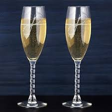 gold wedding toasting flutes cool champagne bulk glass