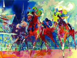 leroy neiman churchill downs oil painting for select your favorite leroy neiman churchill downs painting on canvas or frame at