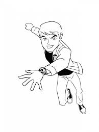 Small Picture Coloring Pages Printable Ben 10 Coloring Pages