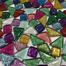 100g colorful glitter shiny glass