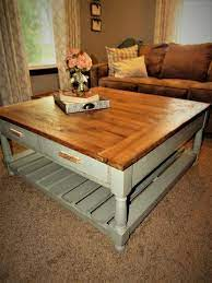 It keeps up a lot of extra room underneath the top surface just as offering heaps of table space on the top for resting your things and plates. 17 Diy Coffee Table Ideas To Transform Your Living Space Hometalk