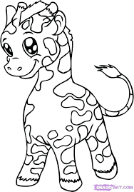 Cute Baby Animal Coloring Pictures Baby Animals Coloring Pages