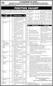 govt jobs in anti corruption department sindh test interview govt jobs 2016 in anti corruption department sindh test interview dates and schedule