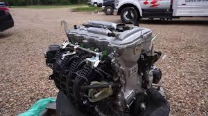 Toyota 2AR FE 2 5Liter 4 Cyl Gas Engine SN N163628 - YouTube