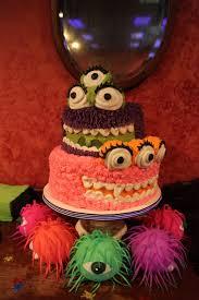 Mini Golf Birthday Cake Monster Cake For Monster Mini Golf Glow