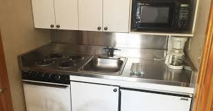 Efficiency Kitchen Home Americas Best Value Inn Suites Lake George Lake George