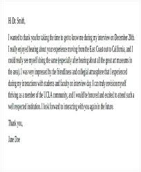 Residency Interview Thank You Letter Cycling Studio