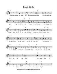 Practice this melody with the help of the video above and enjoy the christmas tune. Jingle Bells Free Christmas Lead Sheet With Melody Chords And Lyrics