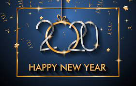 Wallpaper background, new year, 2020 ...