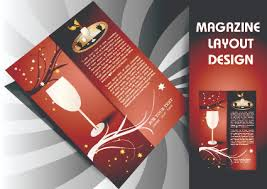 Magazine pages and cover layout design vector 02 - Vector Cover ...