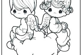 Angel Coloring Pages Printable Coloring Pages Of Baby Angels