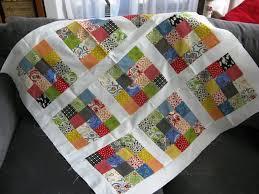 Sixteen Patch Baby Quilt | FaveQuilts.com &  Adamdwight.com
