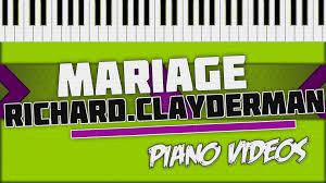 Mariage D Amour Richard Clayderman Piano Tutorial Piano Videos