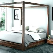 Rustic Canopy Bed Rustic Canopy Bed Platform Iron Wood May C Rustic ...