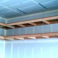 hanging garage shelf plans hanging garage shelves simple hanging