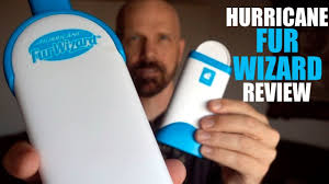 Hurricane Fur Wizard Review: As Seen on TV <b>Lint Brush</b> - YouTube