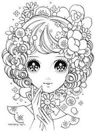 Small Picture Dream girl Coloring Adult Coloring Therapy Free Inexpensive