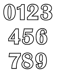 Small Picture 123 Numbers coloring pages Download and print 123 Numbers