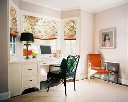 eclectic home office. Eclectic Design Home Office. Perfect Floral Arrangements For  Office With Bamboo Desk