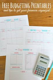 Budgeting For A Family Of 4 Family Binder Budgeting Printables Clean And Scentsible