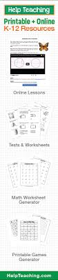 Free Test Maker Printable Best Printable And Online K48 Tests And Worksheets