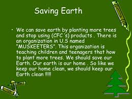 save earth from pollution saving earth