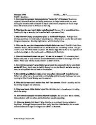 montana questions and answer key part one by the english montana 1948 questions and answer key part one