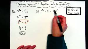 solving exponential equations without logarithms