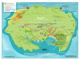 kauai activity map