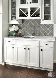 grey kitchen backsplash grey arabesque shape mosaic tile against white cabinets kitchen backsplash tile for grey
